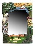 Tropical Southwest Golf Decor Wall Mirror