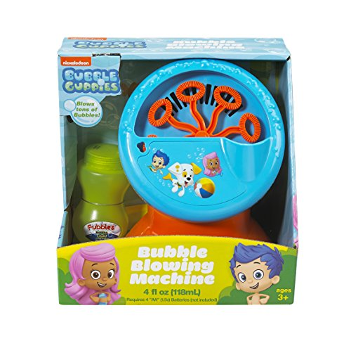 Little Kids Bubble Guppies Nickelodeon Motorized Bubble Mach