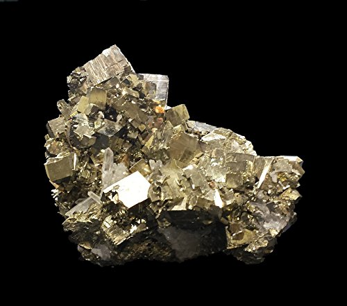 Home Comforts Peel-n-Stick Poster of Specimen Golden Mineralogy Pyrite Fool's Gold Poster 24x16 Adhesive Sticker Poster Print
