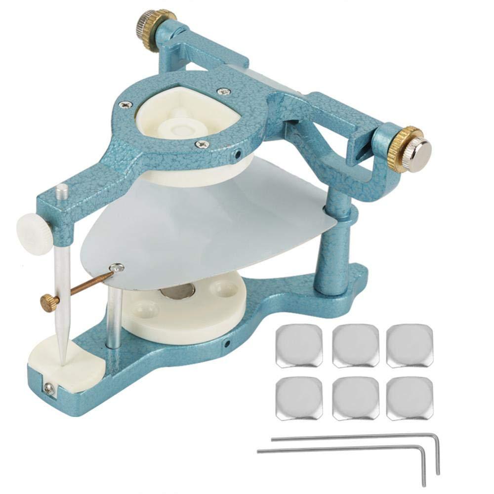 Yosooo Magnetic Articulator,9 in 1 Dental Lab Large Size Full Mouth Adjustable Articulator Equipment by Yosooo