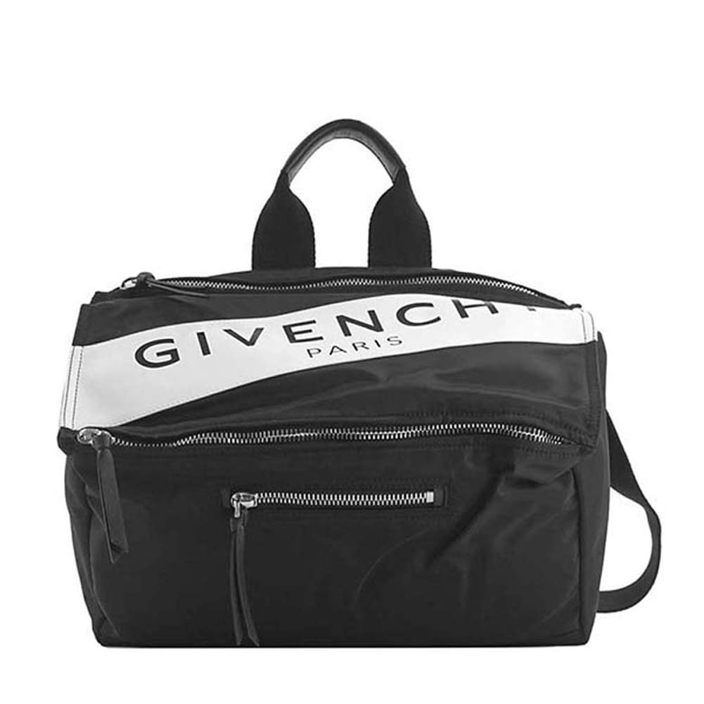 GIVENCHY(ジバンシー) バッグ メンズ PANDORA 2Wayショルダーバッグ BLACK/WHITE BK5006K-0FG-004 [並行輸入品] B07PMHCYQD