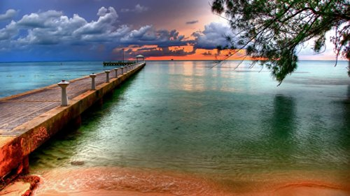 BEAUTIFUL SUNSET In KEY WEST FLORIDA, White St. Pier Photo - West Duval Street Key