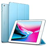 ESR iPad 2017 iPad 9.7-inch Case, Lightweight Smart Case Trifold Stand with Auto Sleep/Wake Function, Microfiber Lining, Hard Back Cover for the Apple iPad 9.7-inch,Sky Blue
