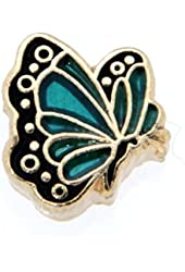 May Butterfly Enamel Birthmonth Charm for Floating Lockets