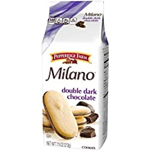Pepperidge Farm, Milano Cookies, Double Dark Chocolate, 7.5 Oz