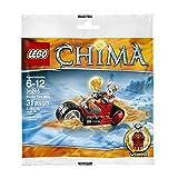 LEGO Legends of Chima: Worriz' Fire Bike Set 30265 (Bagged)
