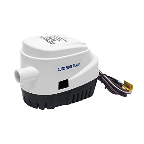 Wisamic Bomba de sentina Sumergible automática del Barco 12V 750gph con el Interruptor de Flotador Interno