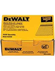 DEWALT DCA16200 2-Inch by 16 Gauge 20-Degree Finish Nail, 2,500 per Box
