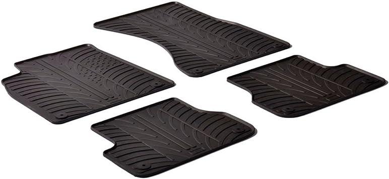 AUDI A7 2011 ON TAILORED FLOOR CAR MATS CARPET BLACK MAT BLACK TRIM