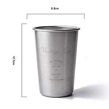 Retro escandinavo ins304 Vaso con tapa de acero inoxidable ...