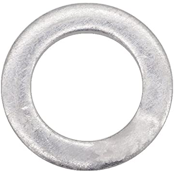 Uxcell 10 Pcs 14mmx20mmx2mm Copper Crush Washer Flat Oil Seal Ring
