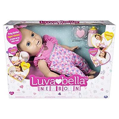 Luvabella BBD Newbornblonde UPCX GML: Toys & Games