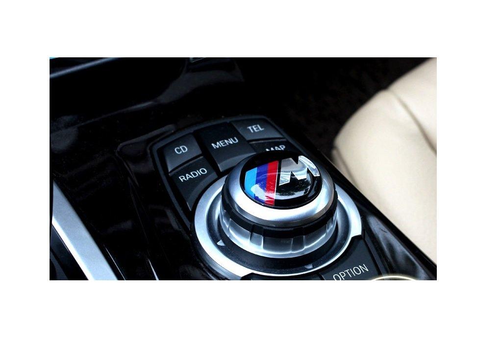 M Power Sports 29mm Interior Multimedia Sound Control iDrive Badge Logo Emblem eMarkooz