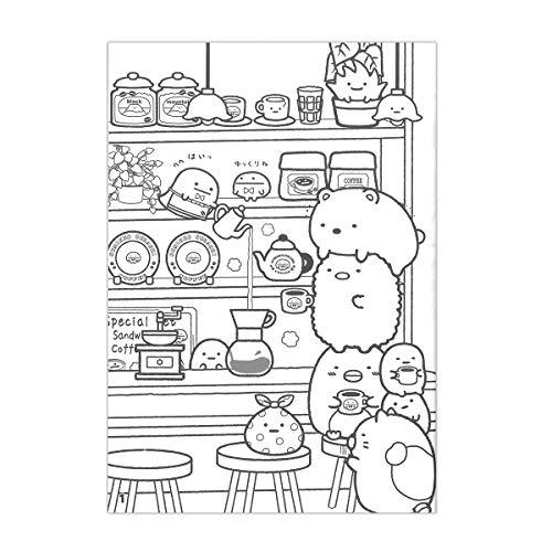 Amazon.co.jp: トーヨー すみっコぐらし ぬりえ B5 309055 文房具・オフィス用品