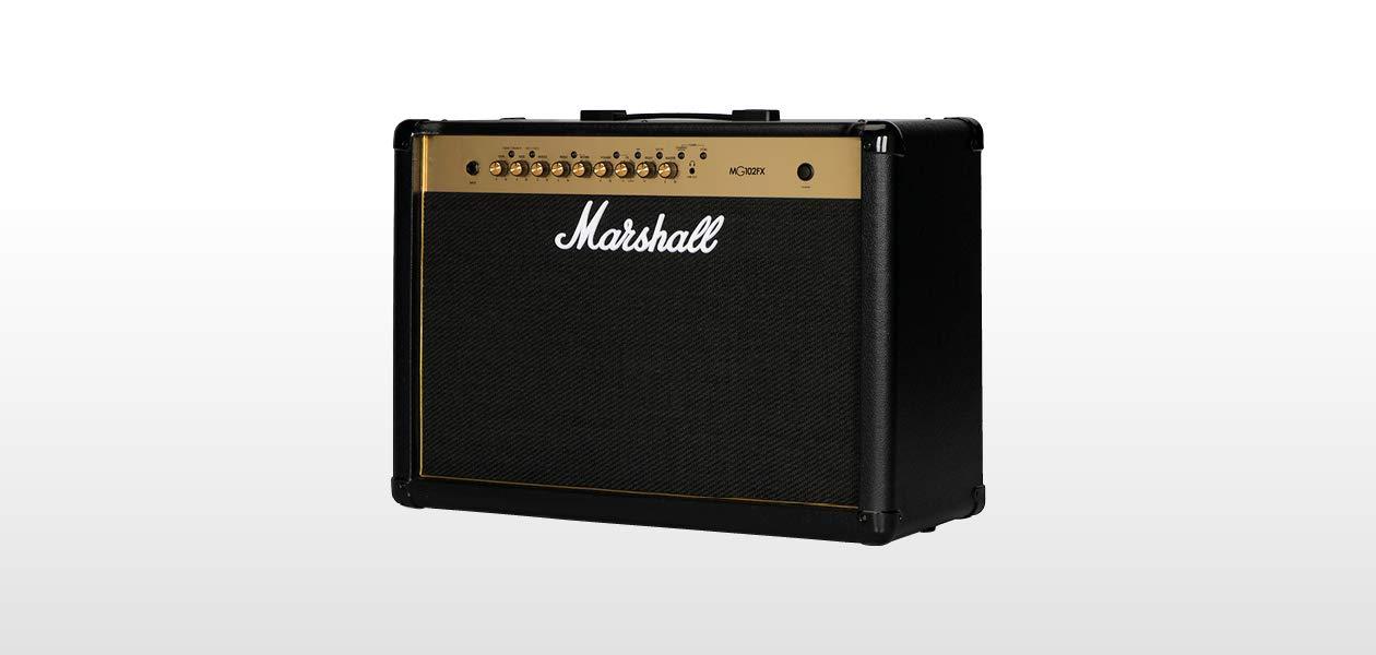 Marshall MG102FX - Amplificador para guitarra (programable y ajustable con los pies, 100 W, 2 altavoces de 12 pulgadas): Amazon.es: Instrumentos musicales