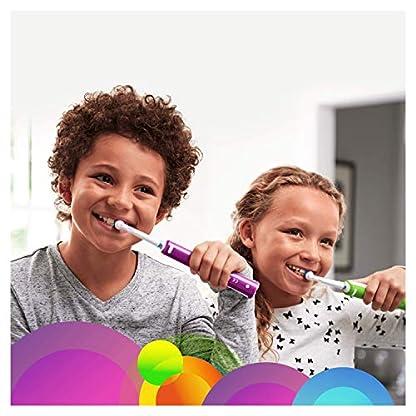 Oral-B Junior Elektrische Zahnbürste, für Kinder ab 6 Jahren, grün 3