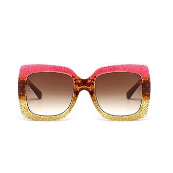 KCJKXC Gafas De Sol Graduadas Cuadradas para Mujer Gafas De ...