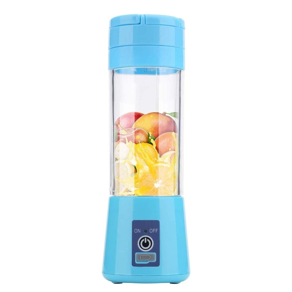 WxB USB Charging 4 Blades Portable Juicer Juice Smoothie Smothie Maker Smoothie Blender Extractor Batidora Be Machine Mixer