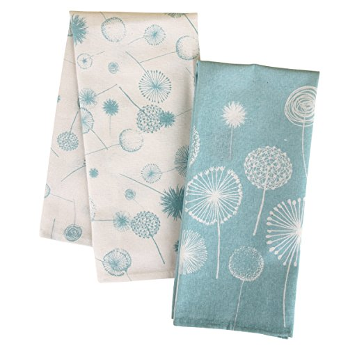 Karma Gifts Tea Towels (Set of 2), Dandelion