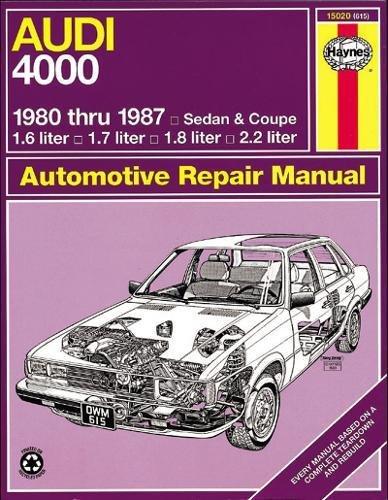 Audi 4000 '80'87 (Haynes Repair Manuals)