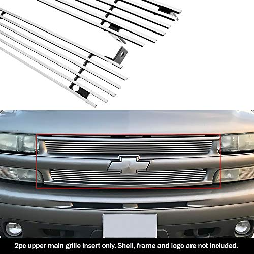 APS Compatible with 1999-2002 Chevy Silverado 1500 2000-2006 Tahoe Suburban Billet Grille Grill S18-A86058C