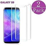 EcoPestuGo Compatible[2 - Pack] Samsung Galaxy Tempered Glass S9 Screen Protector, EcoPestuGo - [9H Hardness][nti-Fingerprint][Ultra-Clear][Bubble Free] Screen Protector Compatible Galaxy S9