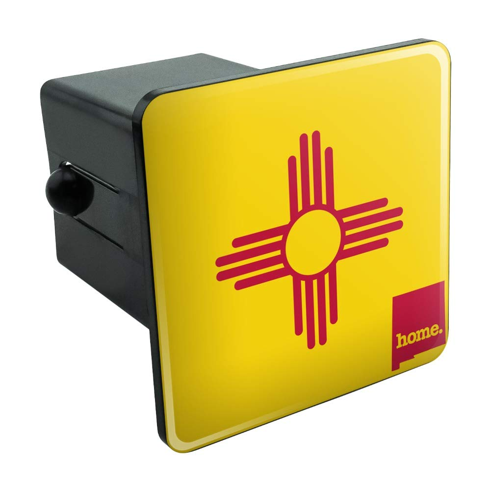 New Mexico NM Home State Flag Officially Licensed Tow Trailer Hitch Cover Plug Insert 2