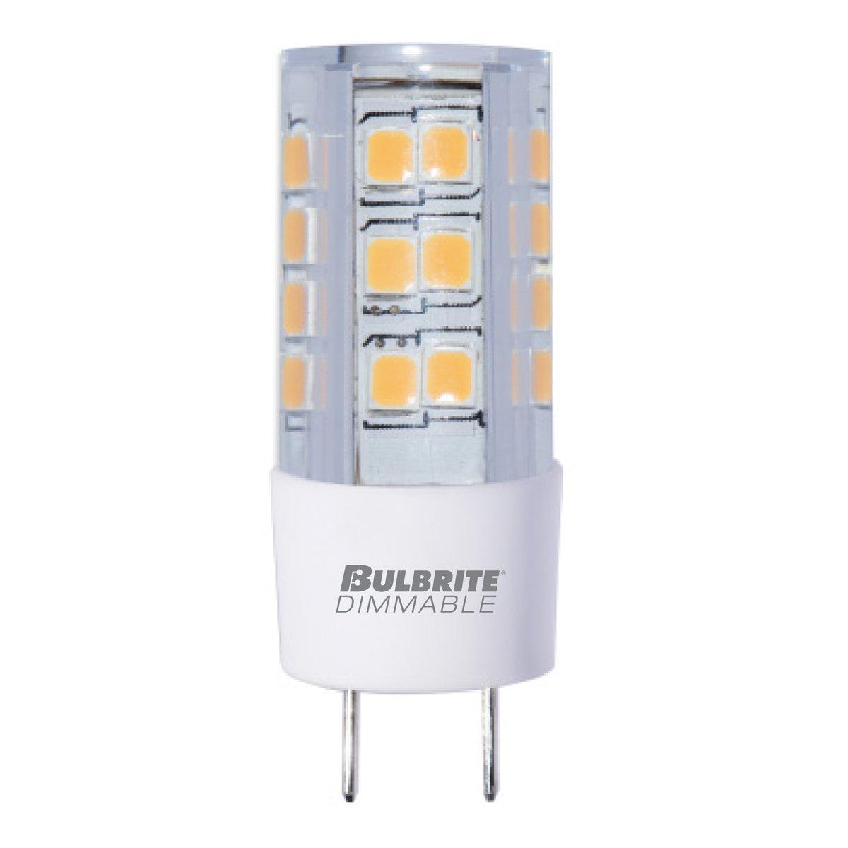 Bulbrite Q100GY8//120 120-Volt Halogen JC Type Line Voltage GY8 Bulb 100-Watt