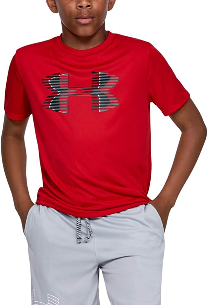 Under Armour Jungen Tech Big Logo Solid Kurzarmshirt