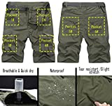 Vcansion Men's Outdoor Lightweight Hiking Shorts