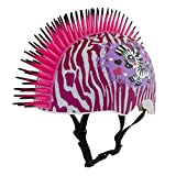Raskullz Zebra Mohawk Helmet, 5+ Years, White