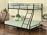 Zinus Easy Assembly Quick Lock Metal Bunk Bed, Quick To Assemble in Under an Hour, Twin over Full Review