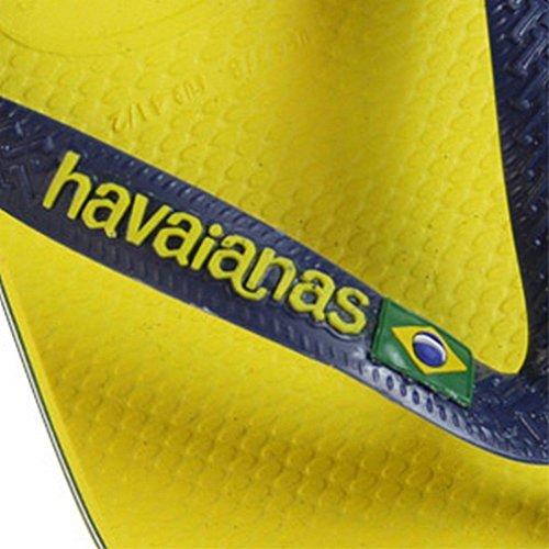 HAVAIANAS MAN BRASIL LOGO 2197 AMARILLO CITRICO CITRUS YELLOW (43/44)