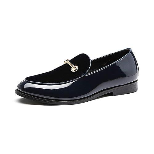 Hombres Zapatos Formales señaló Toe Casual Mocasines Zapatos de Boda Vestido de Fiesta: Amazon.es: Zapatos y complementos