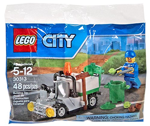 LEGO City Garbage Truck Mini Set #30313 [Bagged]