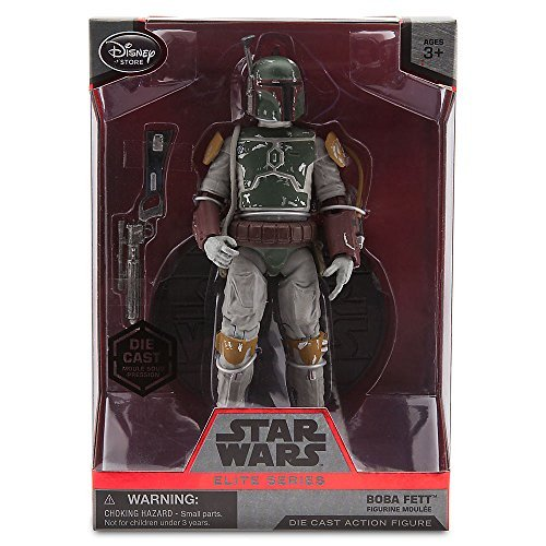 Star Wars US Disney store limited Elite Series 6.5 inches die-cast figure Boba Fett / STAR WARS 2015 ELITE SERIES DIE CAST Figure BOBA FETT [parallel import goods] movie ()