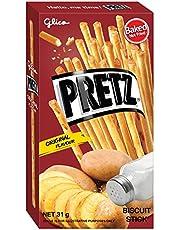 Glico Pretz Original Biscuit Stick, Butter, 31 g