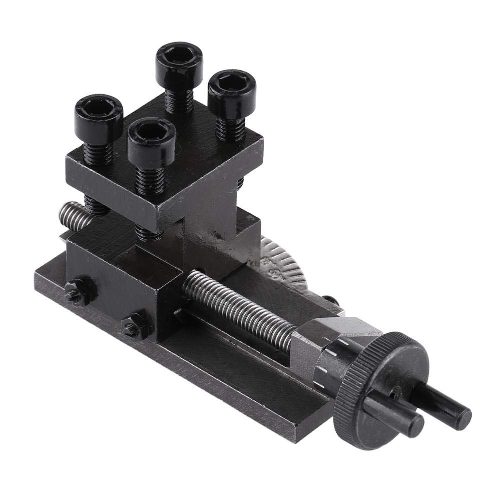 Lathe Tool Holder, Asixx Mini Lathe Tool Holder Accessories 30 Degree Rotatable S/N : 10154 for SIEG C0 Mini Lathe Mini and Portable Hold for SIEG C0 Mini Lathe
