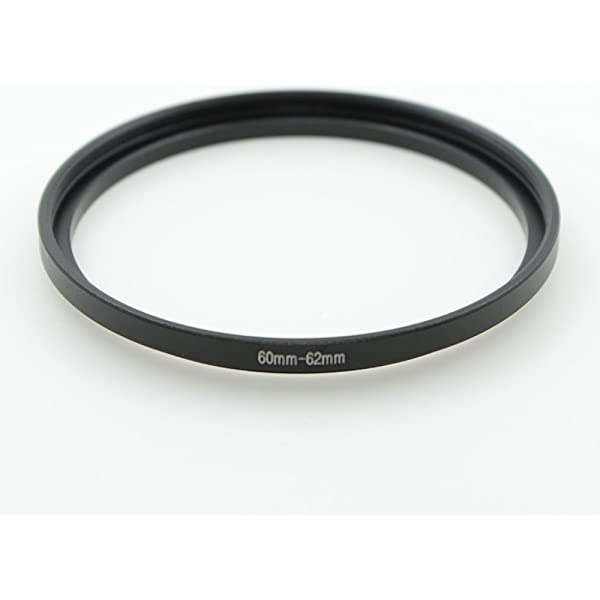 Sensei 60mm Lens to 62mm Filter Step-Up Ring 6 Pack