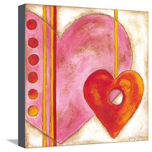 Nancy Slocum Pop - ArtEdge Pop Hearts III by Nancy Slocum, Stretched Canvas Print, 13x13 in