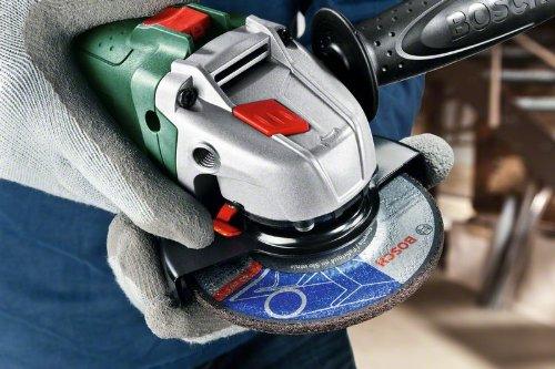 poign/ée anti-vibrations capot de protectio livr/ée sans disque 06033A2400 Bosch Meuleuse angulaire compacte PWS 750-115 /Ø 115 mm