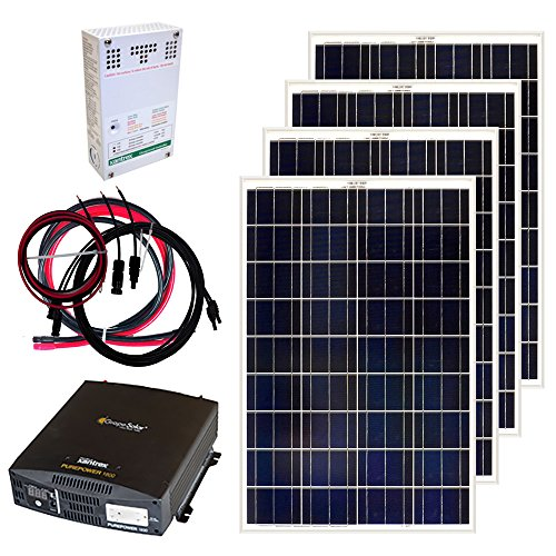 Grape Solar Gs 400 Kit 400 Watt Off Grid Solar Panel Kit