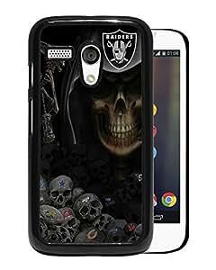Newest Mogo G Case,Oakland Raiders Black High Quality Hot Sale Motorola Moto G Phone Case