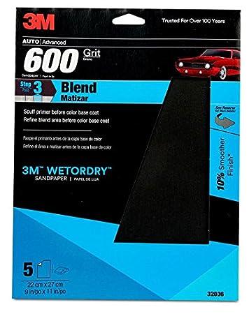 3M 32037 Imperial Wetordry 9 x 11 P500 Grit Sheet