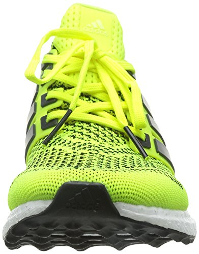 huge discount 8e7c7 abd78 Adidas Mens Ultra Boost Scarpe Da Corsa - Giallo Solare - Cuscino Neutro  Giallo ...