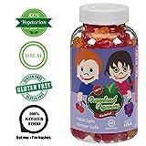 Graceland Organics 90 Kosher, Halal Gummy Vitamins For Kids 2+ Years Old, Nutritional Supplement, Healthy Natural Colors & Flavors Multi-Vitamin