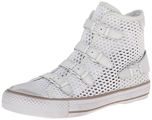 Ash Women's Vanessa Fashion Sneaker, Off White/White, 40 EU/10 M US