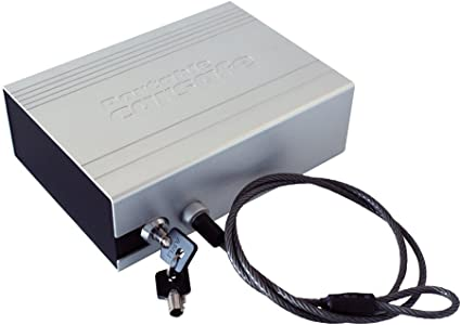 EUFAB 16308 - Caja Fuerte con Cable de Acero: Amazon.es: Coche y moto