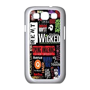 Wholesale Cheap Phone Case For Samsung Galaxy S3 -Wicked The Musical Pattern-LingYan Store Case 16