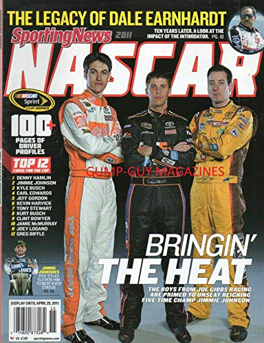 y 2011 Magazine NASCAR 100+ PAGES OF DRIVER PROFILES Jimmie Johnson's Five Titles THE LEGACY OF DALE EARNHARDT Danny Hamilton KYLE BUSCH Carl Edwards JEFF GORDON Kevin Harvick ()